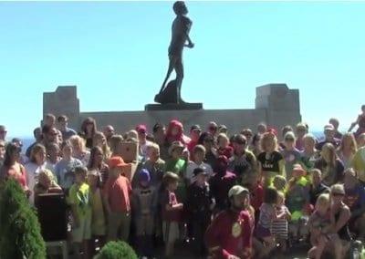 Terry Fox monument Thunder Bay