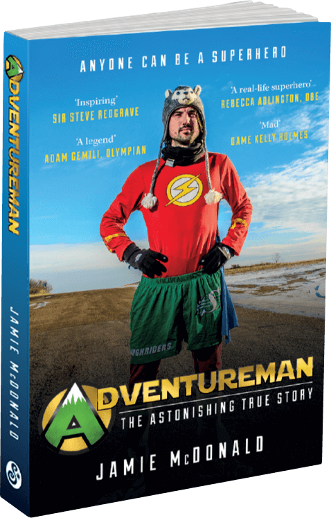 Adventureman: Anyone Can Be A Superhero