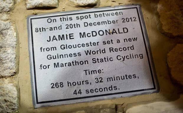 Jamie McDonald is the Adventureman, World Record Breaker
