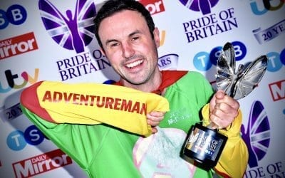 Pride of Britain Winner – Fundraiser of the Year
